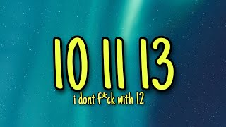 Tuff - Jaah SLT (TikTok Song) 10 11 13 i don't f with 12