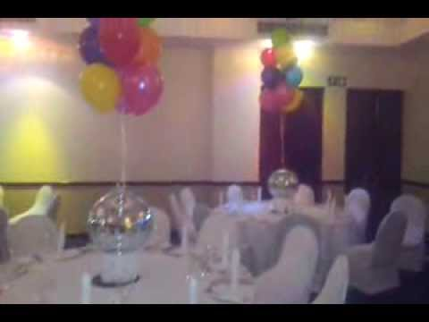 70's Theme Party with Starlight Dance Floor