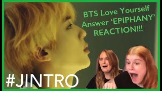 Download #BTS LOVE YOURSELF Answer 'Epiphany' REACTION!!! ( #JINTRO ) Video