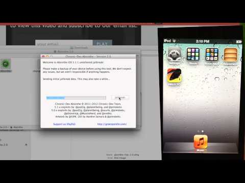 Jailbreak iOS 5.1.1 UNTETHERED (How To) [Absinthe 2.0] - iPhone, iPod Touch, iPad (All Devices)