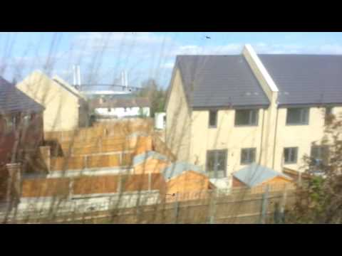 Dartford to Greenhithe by train   5th April 2017