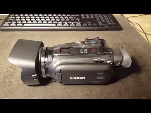 Canon XA20 camcorder noisey Zoom Rocker repair