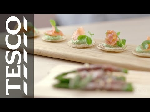 Ideas for Valentine's: How to create tasty canapés | Tesco