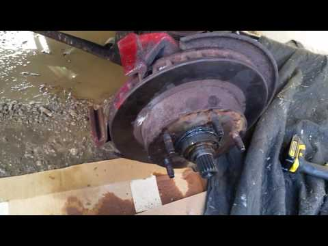 Ford Bronco wheel bearings and ball joints