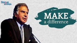 Ratan Tata Inspirational Video   Best Motivational Speech   Rules of Success   Startup Stories