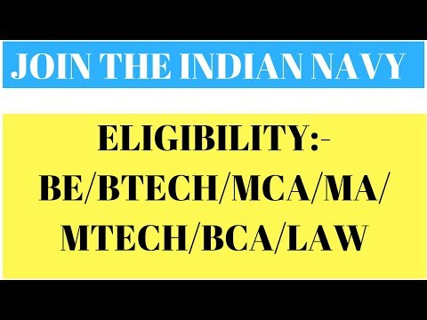 The Indian Navy Recruitment Notification - 2017