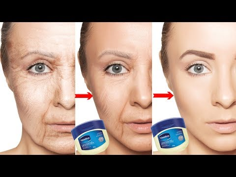 Look 10 Years Younger Using Vaseline | How To Get Rid Of Wrinkles, Fine Lines, & Sagging Skin