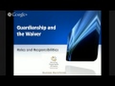 Guardianship Training: Roles and Responsibilities