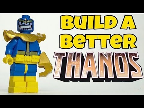 HOW TO Build a Better THANOS Minifigure!