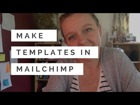 How to Make a Template in Mailchimp - from a campaign - #bertatips 21