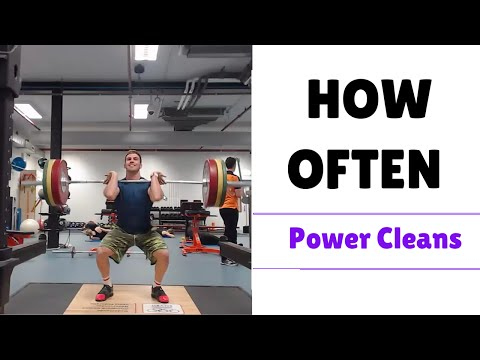 Power Clean workout: How Often Should I Do Power Cleans? Power Cleans for beginners