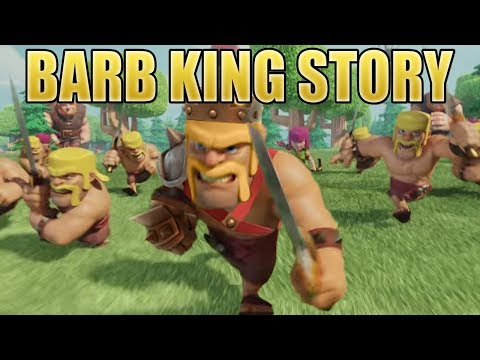 How did the Barbarian become the Barbarian King? The Story of the Barb King | Clash of Clans Story