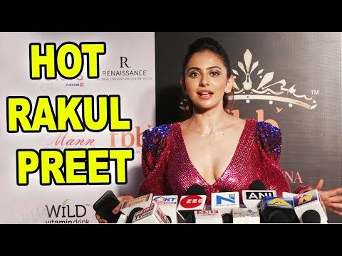 HOT Rakul Preet At Unveiling 30 Miss India State Winners   FBB India  