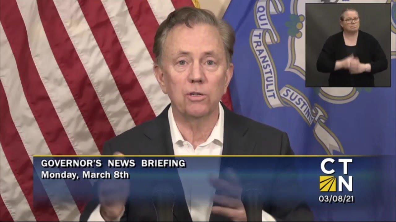 Governor Lamont's March 8, 2021 4PM Coronavirus Update