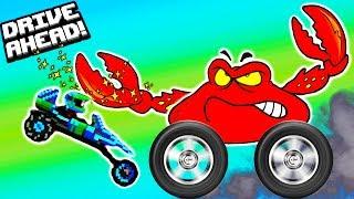 Новая серия и про машинки БЕЗУМНЫЙ ИЮЛЬ видео   битва тачек гонки Drive Ahead