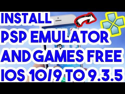 Updated New Install Psp Emulator & Roms No Jailbreak On iOS 10/9.3.5/9.3.4/9.3.3 On iPhone/iPod/iPad
