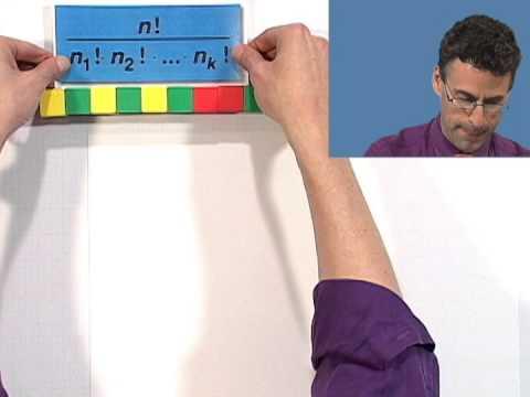 Thinkwell's College Algebra: Distinguishable Permutations