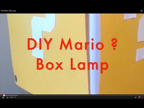 DIY Mario ? Box Lamp