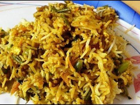 How to Make Hyderabadi Vegetable Biryani