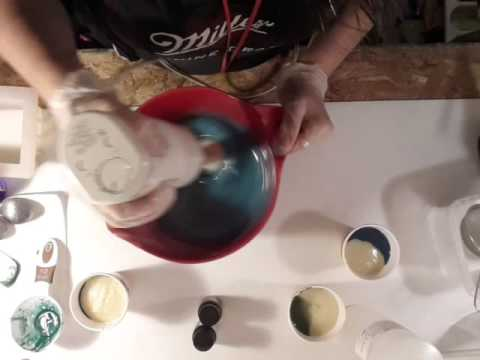 Making of Hidden Coral Reef Soap