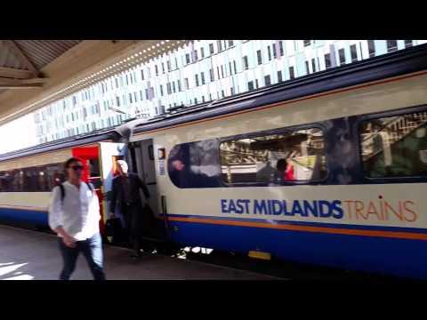 HST arriving into Nottingham Station