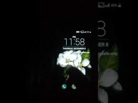 lg lock screen with sound