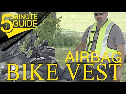 How the Turtle Airbag Inflatable Motorcycle Vest by Helite Works