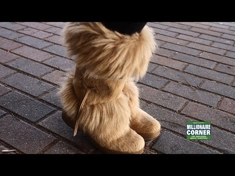 Heather's Couture Corner: Furry Boots for Winter 2013