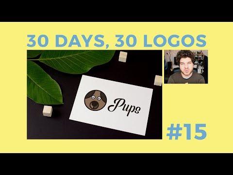 30 Days, 30 Logos #15 - Pups