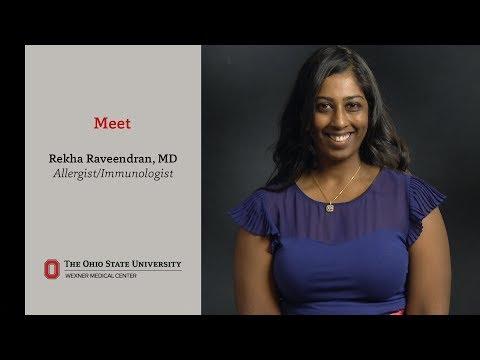 Meet Ohio State allergist/immunologist Rekha Raveendran, MD
