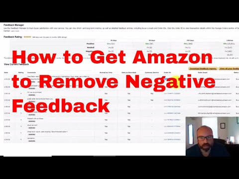 How to Get Amazon to Remove Negative Feedback