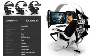 The Ultimate Gaming Chair for $10,000