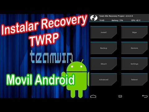 como instalar recovery twrp con odin en cualquier android