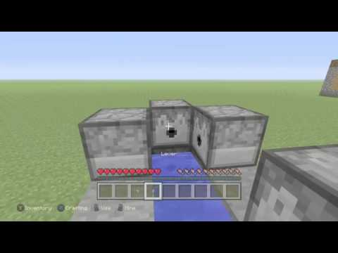 Minecraft: Xbox One Edition Easiest TNT Cannon Ever Tutorial