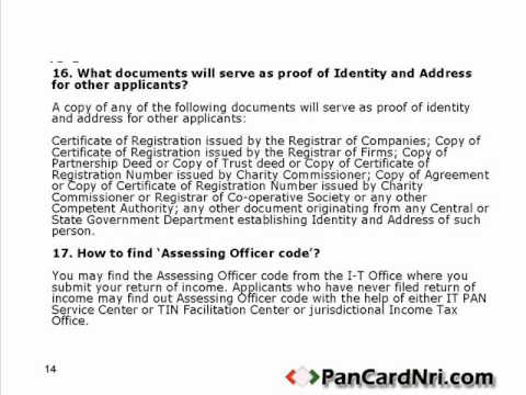 PAN Card is now COMPULSORY for NRIs, PIOs, OCIs & Companies!
