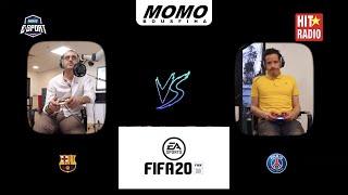 3ich l'game m3a Momo - Fc Barcelone Vs PSG