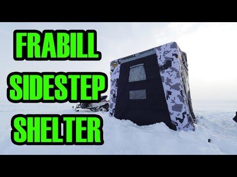 Frabill SideStep Flip-over Ice Shelter Overview