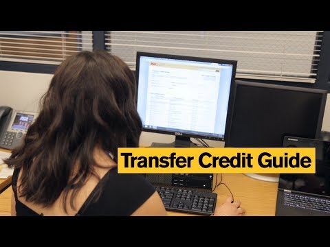 Transfer Credit Guide: How credits transfer to ASU
