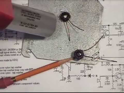 Toroid winding part 3 trifilar transformers