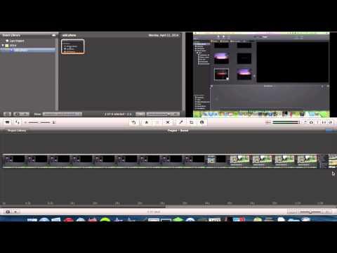 Add Photos to iMovie 9