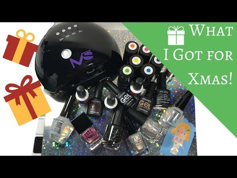 🎁 What I Got for Christmas! (nail stuff ONLY) 🎁