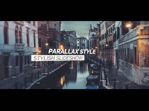 After Effects Template | Parallax Opener Photo Slideshow I Download Project
