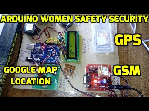 Arduino based women safety security system using gsm and gps modem
