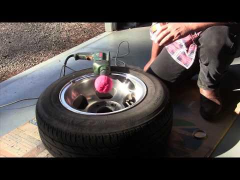 How to Polish Aluminum Wheels to a Mirror Finish
