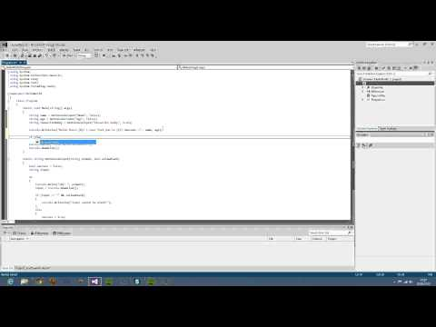 C# User Function Call