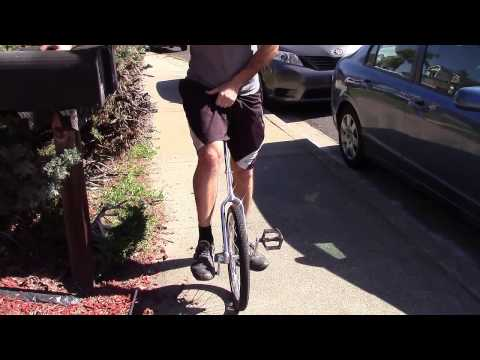 How to ride a unicycle - For beginners