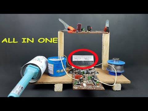 DIY Soldering Iron Station All in One