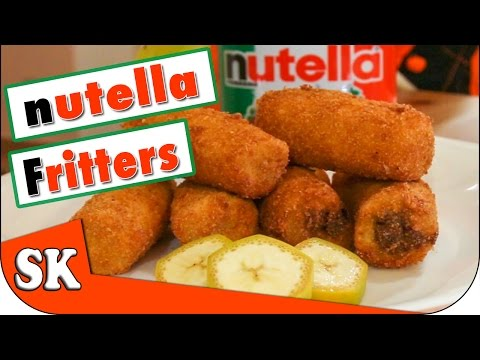 NUTELLA STUFFED BANANAS - SAY YESS IF YOU LIKE