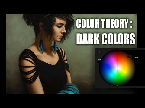 Color Theory : Mixing Dark Colors and the problem with Black Paint