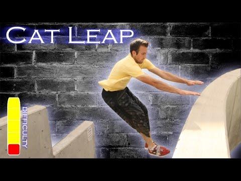 How To CAT LEAP/ARM JUMP - Parkour Tutorial